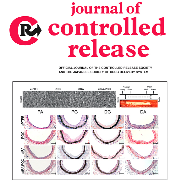 Banu Akar and Robert van Lith, Journal of Controlled Release, 2018 Cover